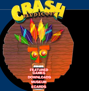 Aku Aku Crash Website 2
