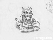 Crash nitro kart concept