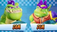 Zem & Zam Crash Team Racing Nitro-Fueled