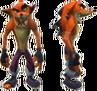 Crash Tag Team Racing Evil Crash Bandicoot