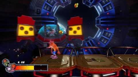 Crash Bandicoot 2 - Dr. N Gin Boss