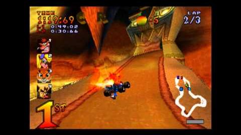 Mystery Caves - CTR Challenge - Crash Team Racing - 101% Playthrough (Part 25)