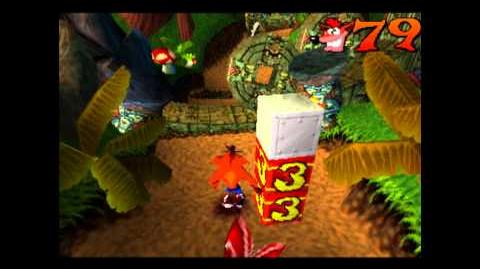 Jungle Rollers - Clear Gem - Crash Bandicoot - 100% Playthrough (Part 8)