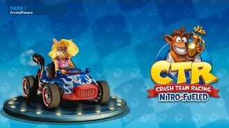 Let's Play Crash Team Racing Nitro-Fueled Rocket Kart Gameplay