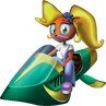 Crash Bandicoot 3 Warped Coco Bandicoot Jet-Ski