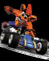 Crash Team Racing Crash Bandicoot Kart Promotional Model.png
