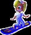 Crash Bandicoot The Wrath of Cortex Coco Bandicoot Snowboard.png