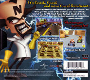 Crash Collector Edition Back