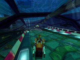 Deep Sea Driving Crash Tag Team Racing