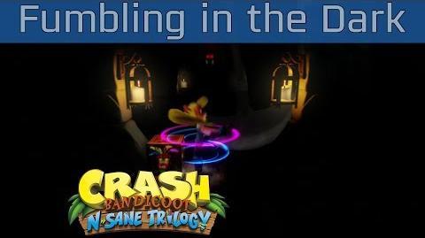 Crash Bandicoot N. Sane Trilogy - Fumbling in the Dark 100% Gems Walkthrough -HD 1080P-