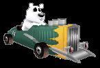 Crash Bandicoot Nitro Kart 3D Polar