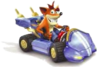 Crash Nitro Kart Crash Bandicoot In-Kart