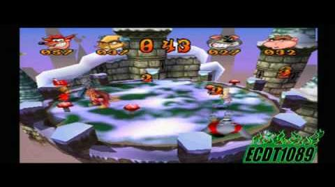 Crash Bash Playthrough Part 77 Mallet Mash Crystal Challenge