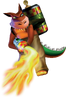 Dingodile Crash Bandicoot 3 Warped