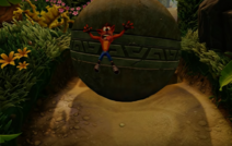 Crash crushed by boulder