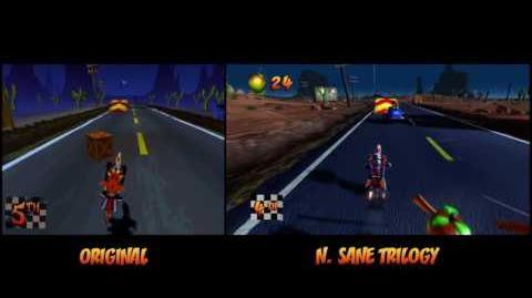 Road Crash Transformation Crash Bandicoot N