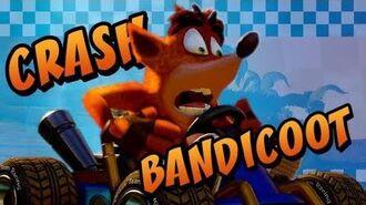 Crash Bandicoot Crash Team Racing Nitro-Fueled