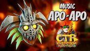 OST Crash Team Racing Nitro Fueled - APO-APO Mask MUSIC