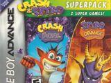 Crash & Spyro Superpack - Crash Bandicoot Purple/Spyro Orange