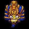 Cortex pharaoh sticker
