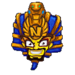 Cortex pharaoh sticker