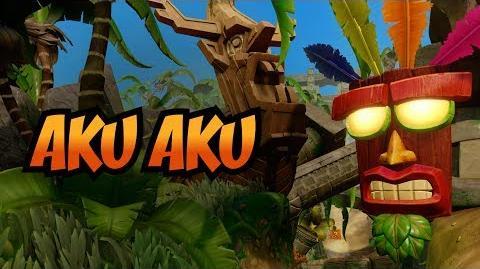 Aku Aku and Uka Uka Crash Bandicoot N
