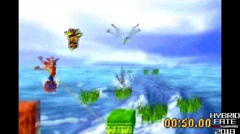 Crash Bandicoot 2 N Tranced - 101% & All Platinums, Part 3 Lagoony Tunes-0