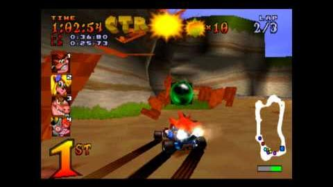 Crash Cove - CTR Challenge - Crash Team Racing - 101% Playthrough (Part 23)