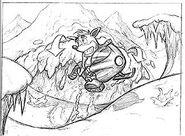 Crash snowmobile concept