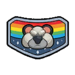 Space koala sticker