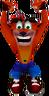 Crash Bandicoot Hanging Crash 2