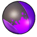 Electron purple paint