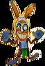 Voodoo Bunny Crash of the Titans