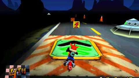 Area 51?- Getting both Gems and a Platinum Relic at the same run - Crash Bandicoot 3- Warped