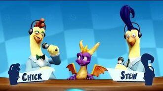 """Crash Team Racing Nitro-Fueled"" CTR TV Spyro & Friends Intro"