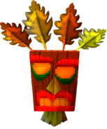 Crash Bandicoot 2 Cortex Strikes Back Golden Aku Aku