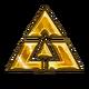 Space insignia sticker