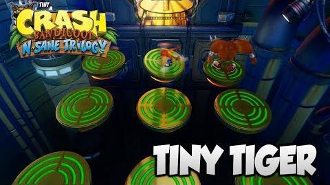 "Crash Bandicoot 2 - ""Tiny Tiger"" BOSS Fight (PS4 N Sane Trilogy)"