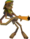 Crash Bandicoot 3 Warped Flamethrowing Lab Assistant