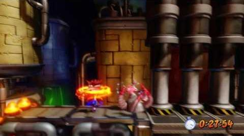Crash Bandicoot 2 - Spaced Out Platinum Relic-0