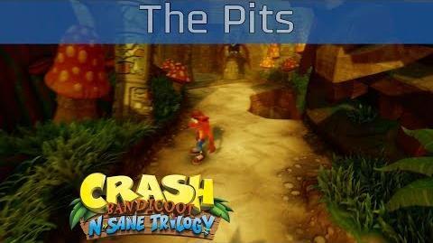 Crash Bandicoot N. Sane Trilogy - The Pits 100% Gems Walkthrough -HD 1080P-