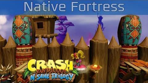 Crash Bandicoot N. Sane Trilogy - Native Fortress 100% Gems Walkthrough -HD 1080P-
