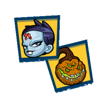 Spooky portraits pack