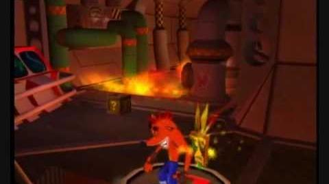 Crash Bandicoot The Wrath Of Cortex - 106% & All Platinums, Part 14 Fahrenheit Frenzy-0
