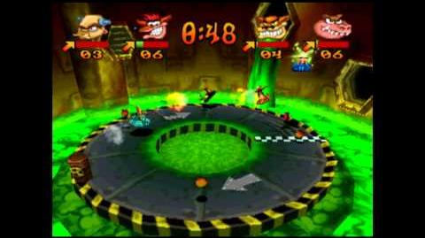 Toxic Dash - Trophy - Crash Bash - 200% Playthrough (Part 64)