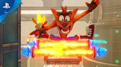 Crash Bandicoot N. Sane Trilogy - E3 2018 Future Tense Trailer PS4
