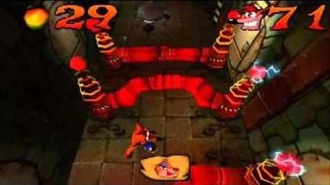 Crash Bandicoot Japanese Version 100% Part 23 - Cortex Power 1 5 - Green Goo