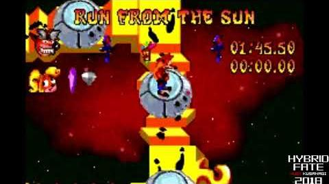 Crash Bandicoot 2 N-Tranced - 101% & All Platinums, Part 14 Run From The Sun