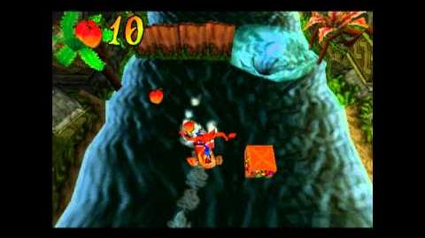 Plant Food - Clear Yellow Gem - Crash Bandicoot 2 Cortex Strikes Back - 100% Playthrough (Part 13)