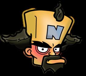 Doctor Neo Cortex Icon Crash Bandicoot N. Sane Trilogy